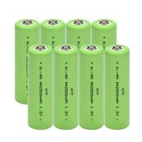 rechargeable stack gtf aa 2500mah 1 2v alkaline refillable battery for led light toys mp3 cell stock at source