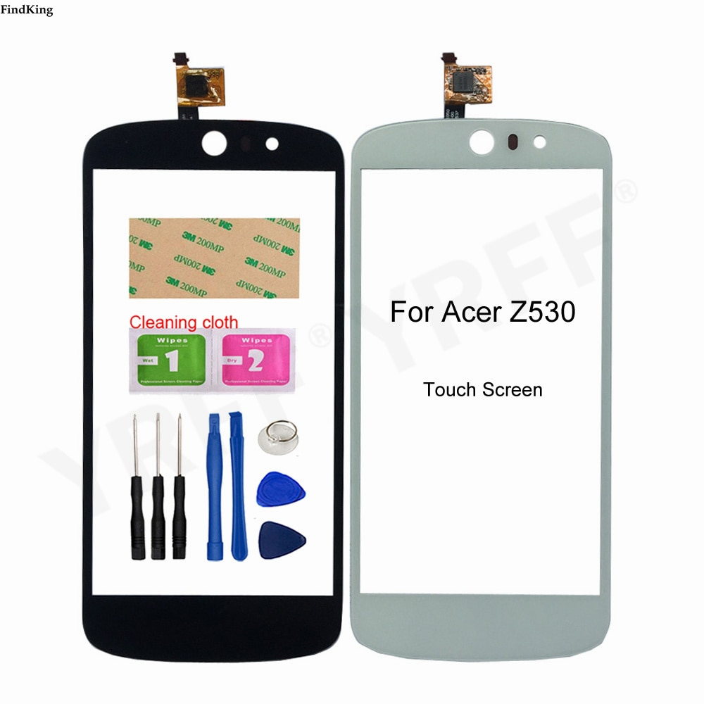 Z530 Touch Screen For Acer Liquid Z530 Front Panel Touch Screen Sensor 5.0