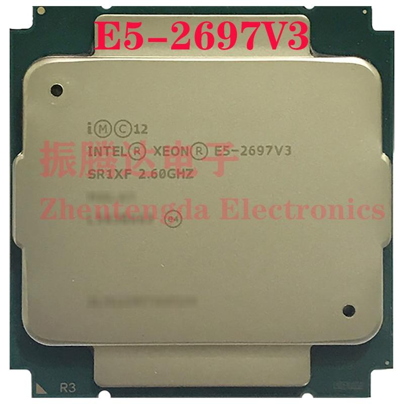 Intel Xeon E5-2697 v3 Processor 2.6GHz 30MB 14 Core 28 Threads LGA 2011-v3 E5-2697V3 CPU Processor