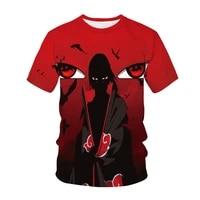 2021 summer anime kids unisex t shirt fashion 3d printing casual boy girl t shirt harajuku mens top