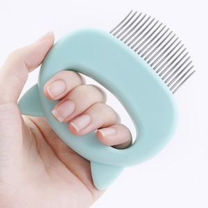 Pet Massage Brush Comb dog Hair Remover Cat Brush Grooming Tools Pet Comb Trimmer For Dogs Cats Bath Brush Massage Tool