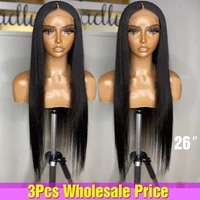 levita wholesale bone straight lace front wig in bulk pre plucked lace closure wig brazilian lace human hair wigs for women