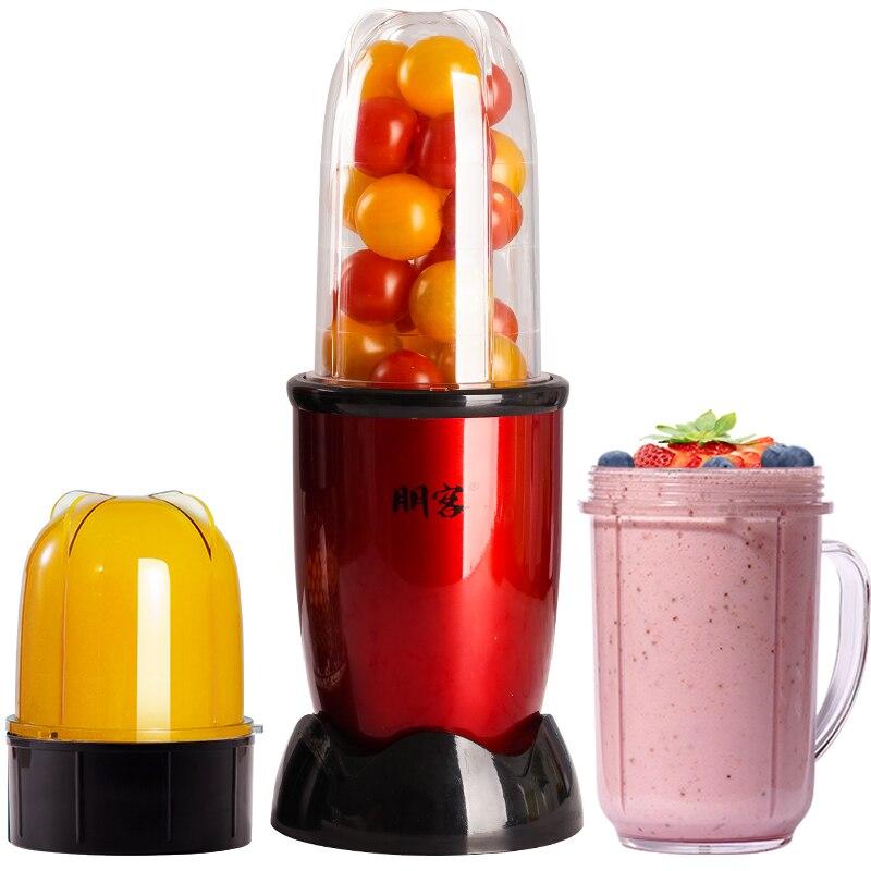 Mini licuadora eléctrica automática para el hogar, máquina exprimidora de 220V, con...
