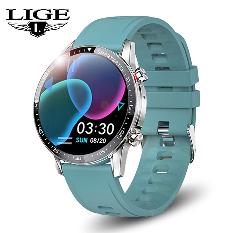 LIGE Smart Watch Men Bluetooth Call Smartwatch Women Heart Rate Monitoring Sport Fitness Bracelet Sm