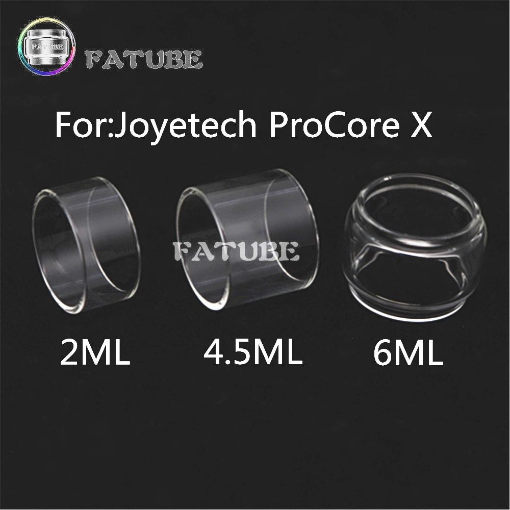 3pcs FATUBE bubble glass Cigarette Accessories for Joyetech ProCore X 2ML/4.5ML/6ML