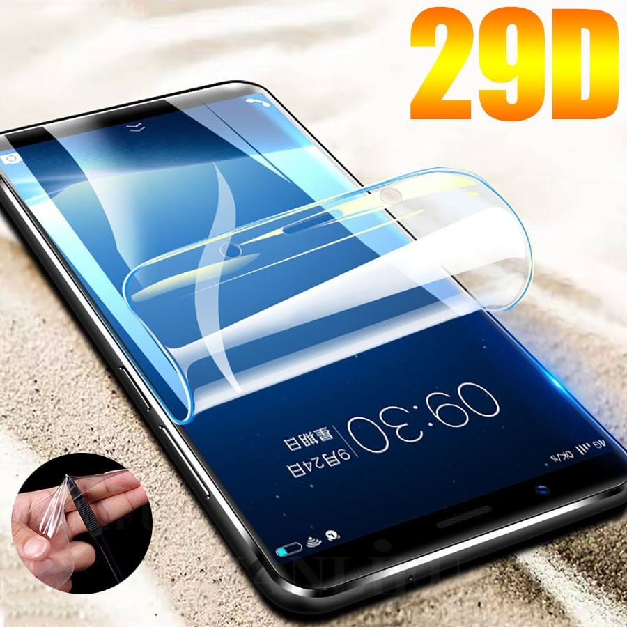 Hydrogel Film For Meizu 15 Lite Plus M15 Screen Protector Explosion-proof Case Cover FOR Meizu 16 16