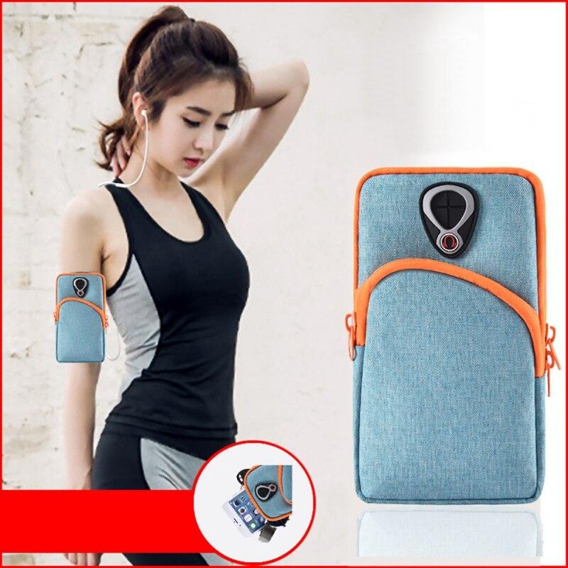 Lauf Arm Handy Handgelenk Tasche Abdeckung Smartphone Brieftasche Halter Wasserdichte Outdoor Sport Ausrüstung Fitness Zubehör Neue