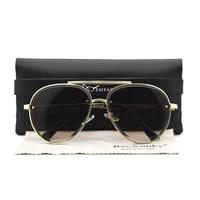 2021 classic vintage aviation sunglasses women luxury brand designer retro driving sun glasses for men shades eyewear with case