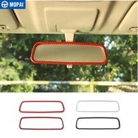 mopai interior mouldings for jimny jb74 car interior rearview mirror decoration stickers for suzuki jimny 2019 accessories