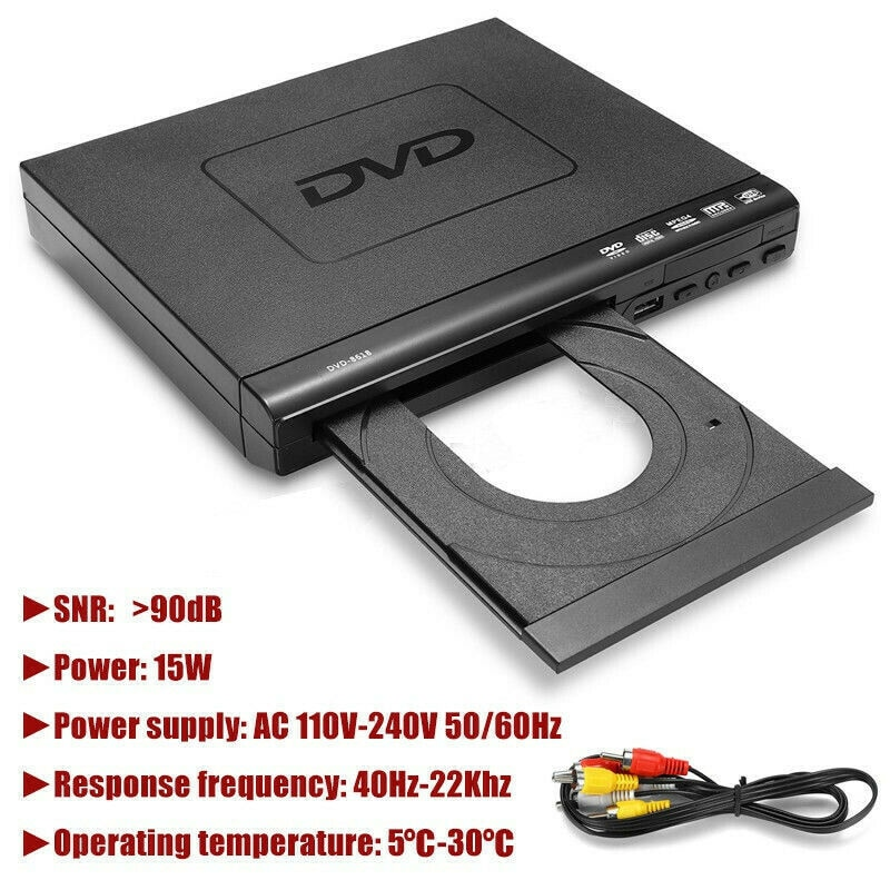 Tragbare Mini DVD Player EVD-Player Musik Dis Player VCD Musik Dis Player Home Theatre System Mit Romote Steuer EU 1 zoll