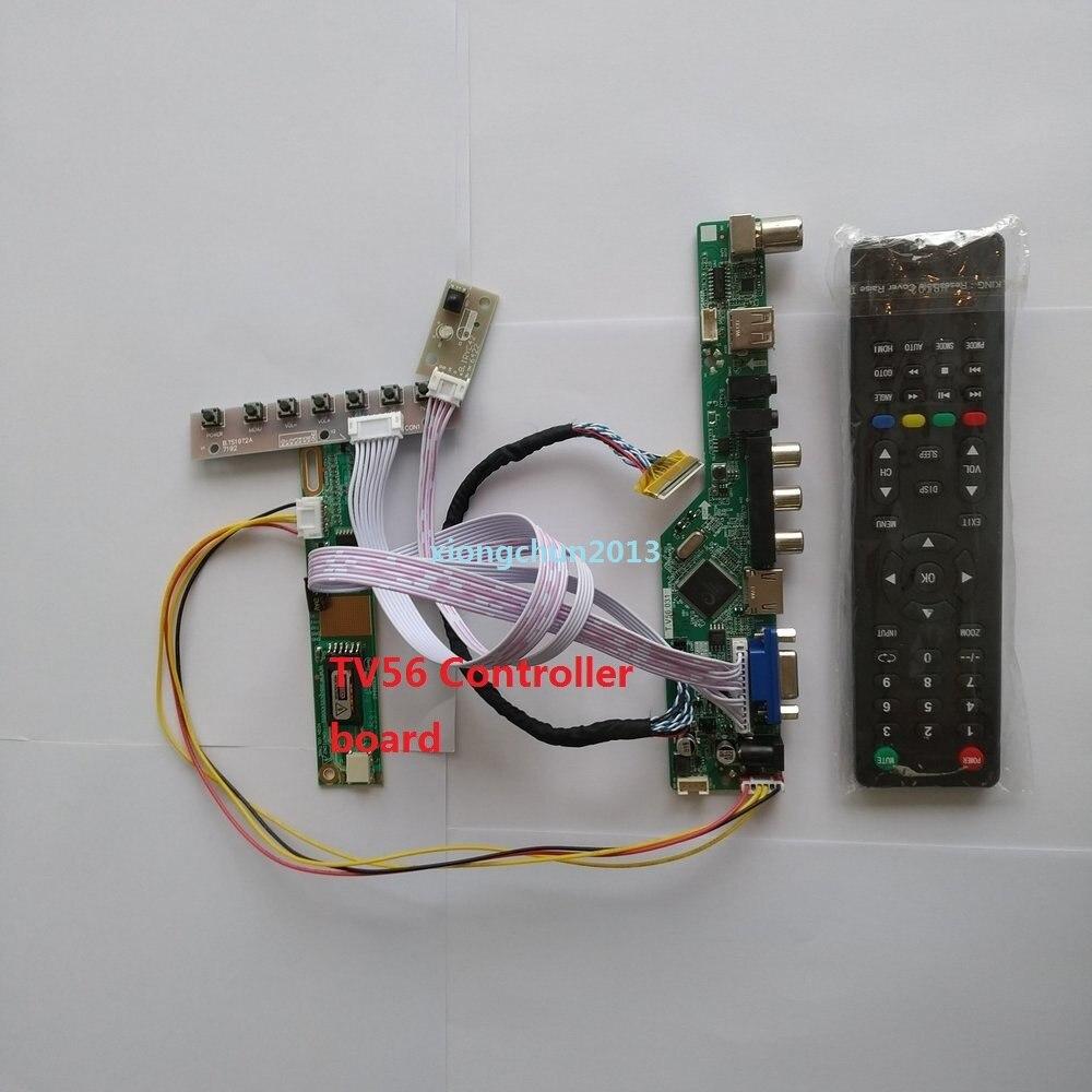 "LED LCD CCFL lâmpadas placa DE ÁUDIO TV HDMI USB VGA AV 1 monitorController bordo motorista Bordo Para LTN154AT07 1280X800 15.4"""