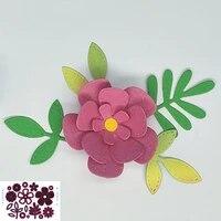 leaf flower metal cutting mold scrapbook photo album decoration diy handmade art