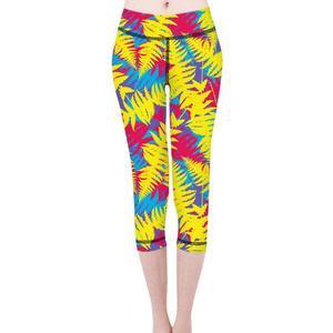 Women Yoga Pants Floral Print Elasticity Fitness Legging Sports Leggings Tights Girl Running Sportswear Woman Training Trousers