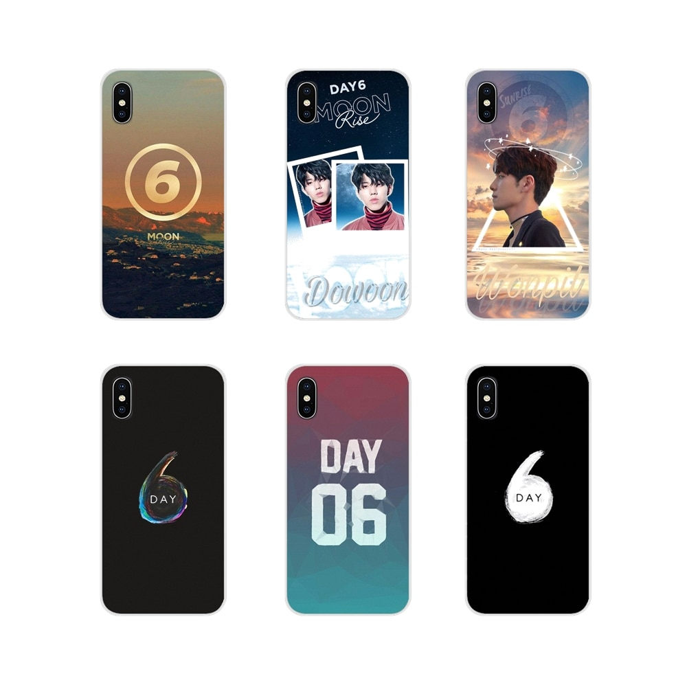 DAY6 Men's band For Xiaomi Mi4 Mi5 Mi5S Mi6 Mi A1 A2 5X 6X 8 9 Lite SE Pro Mi Max Mix 2 3 2S Accessories Phone Shell Covers