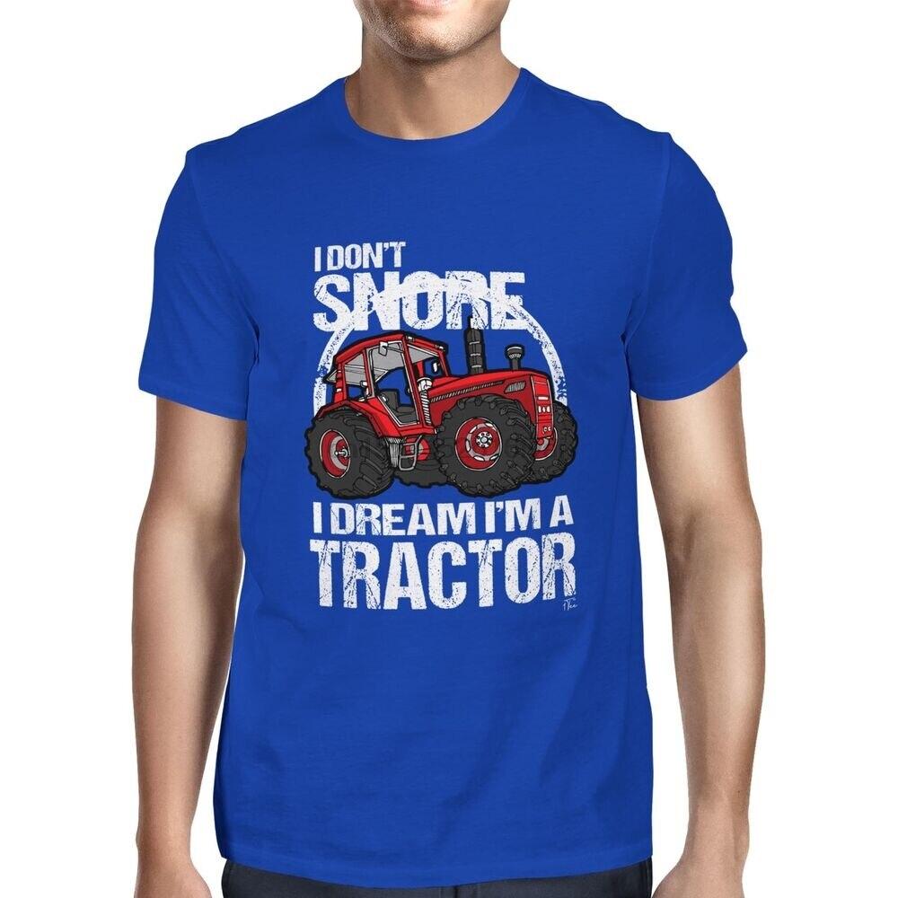 Hombre yo no ronco sueño que soy un Tractor agrícola camiseta