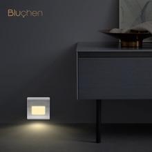Lámpara de pared con Sensor de Radar empotrado, candelabro de pared Led moderno para escalones de pasillo, iluminación nocturna interior