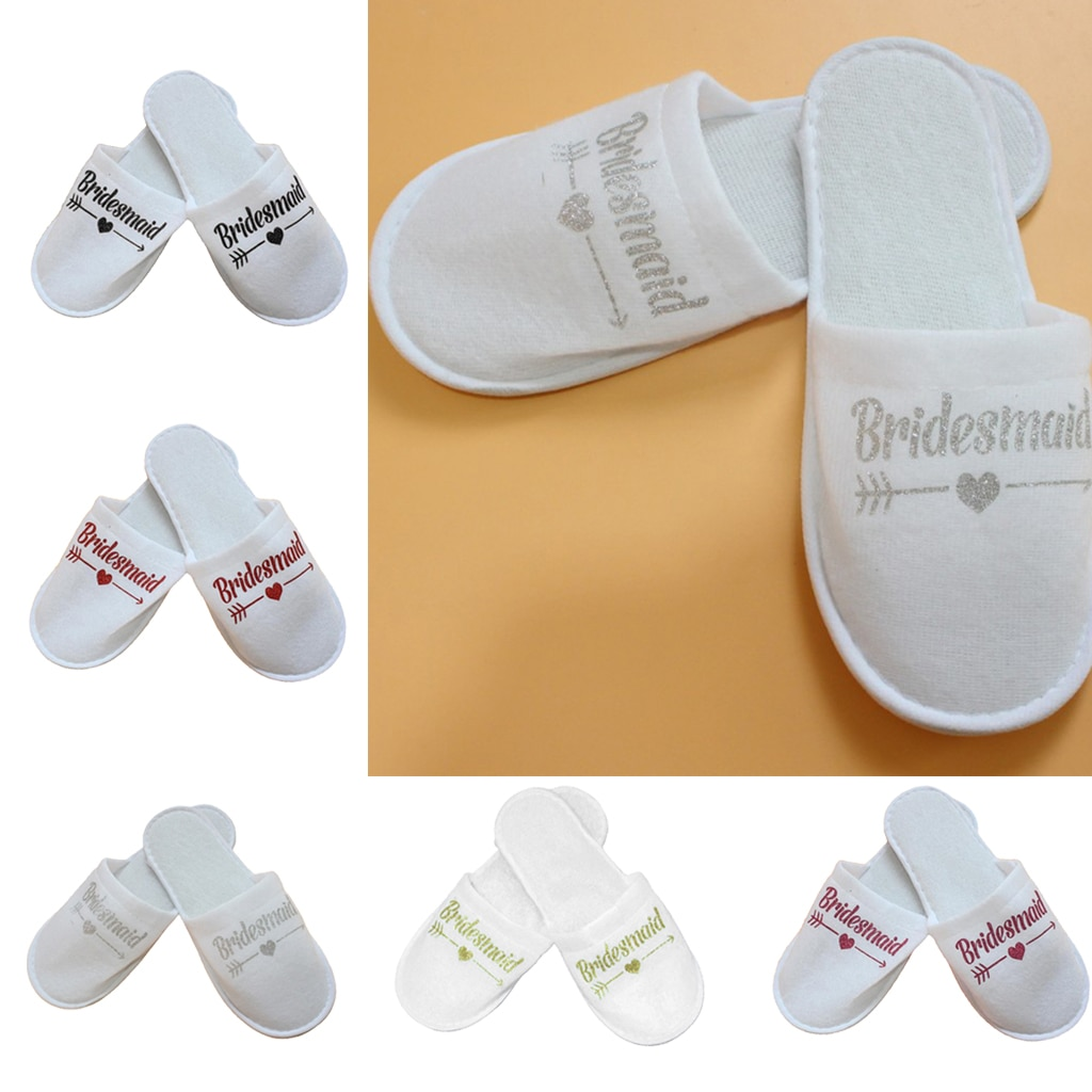 ride slippers guest slippers wedding bath slippers guest house shoes terry slippers disposable for women