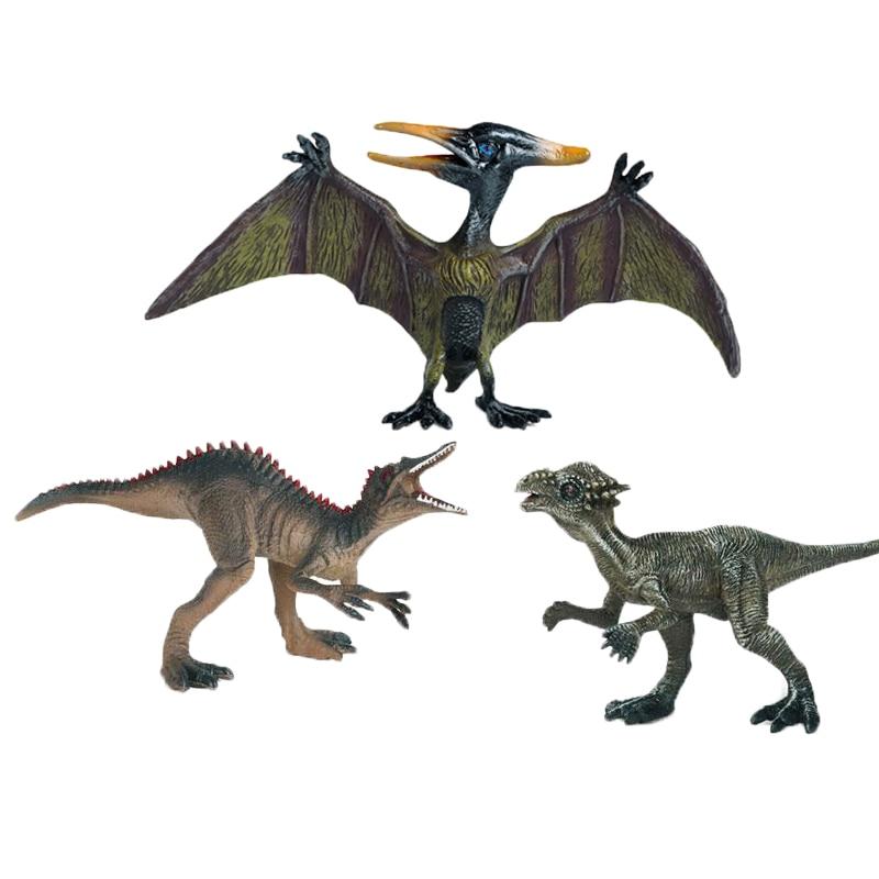 jurassic dinosaur model simulation brachiosaurus pvc plastic toy model educational toy hand painted toys for children gift Big Size Dinosaur Jurassic Wild Life Model Toy Set Action Figure Dinosaur Children Simulation Educational Toys For Boys Gifts