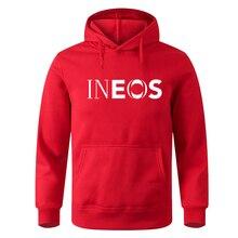 Autumn Winter Fashion Fleece Hoodie Mens INEOS Print Hoodie Men Hip Hop Streetwear Men Brand Sweatsh