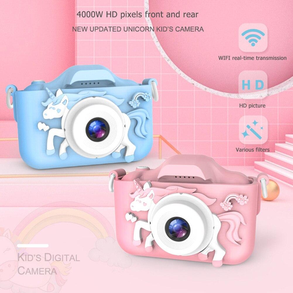Детские игрушки для малышей 1080P подарки подарок видео мини цифровая образовательная проекционная камера для детей на день рождения камера ...