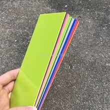 1 pieza de mango de cuchillo Diy, accesorios de material de 180x80mm, espaciador de mango G10, material de fabricación de 1mm de espesor