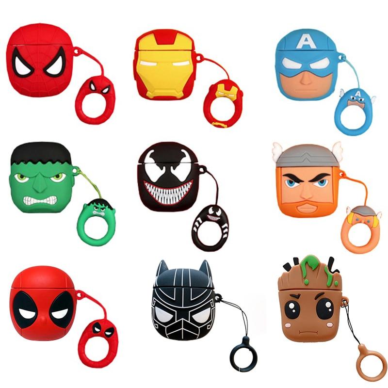 custodie-in-silicone-marvel-iron-man-spiderman-black-panther-per-airpods-1-2-custodia-protettiva-per-auricolare-wireless-bluetooth