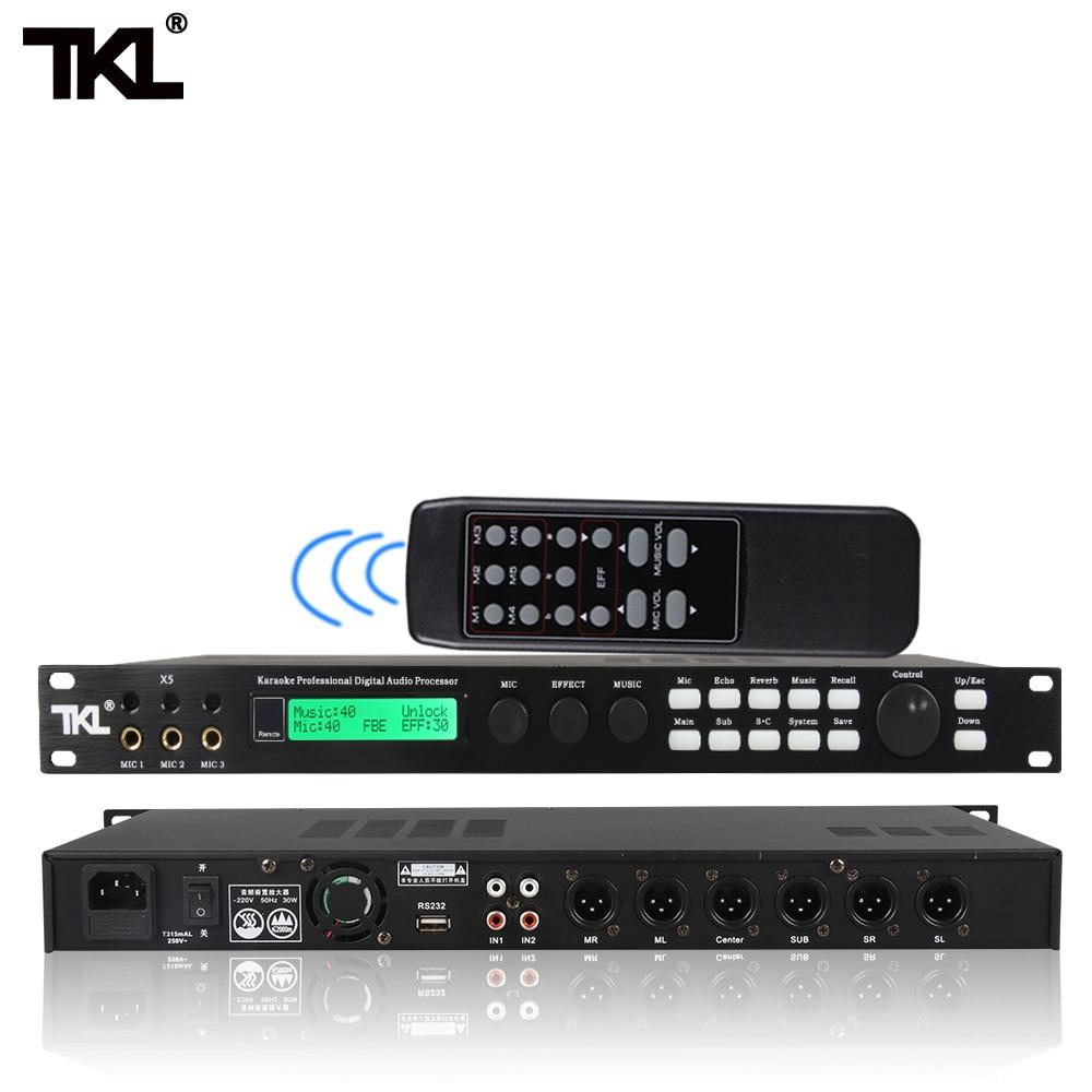 معالج كاريوكي احترافي ، TKL ، مكافح التخميد ، تردد ، خلط الصوت