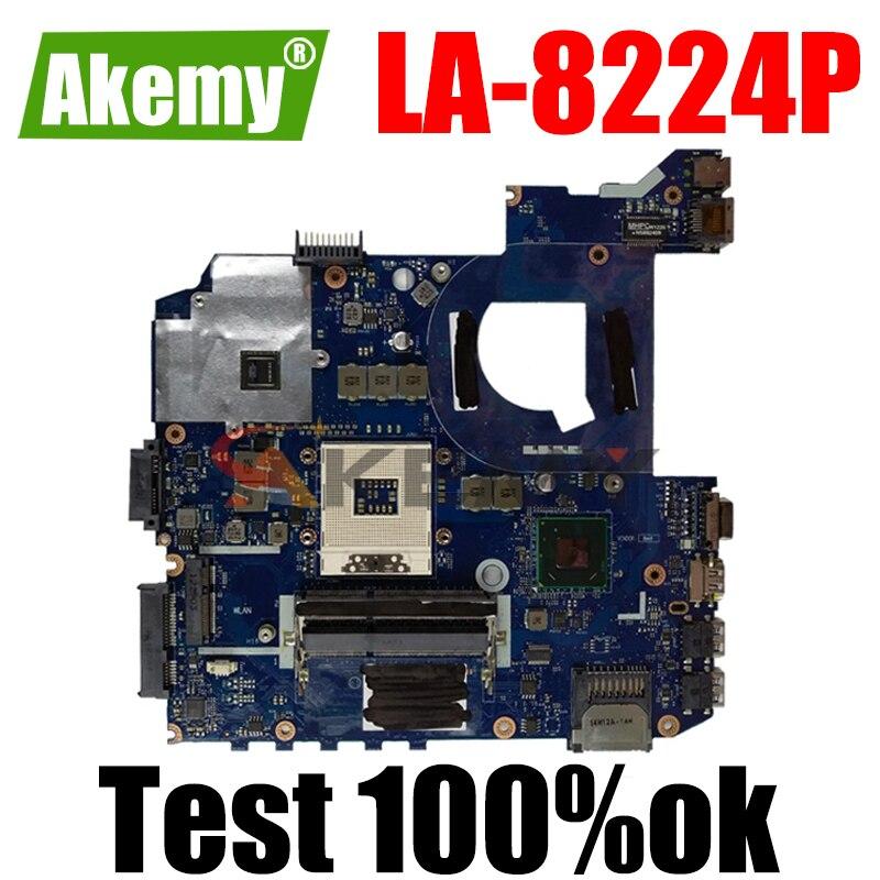 Akemy QCL41 LA-8224P اللوحة لابتوب ASUS K45VD A45V K45V K45VM K45VJ K45VS A45VJ اختبار اللوحة الأصلية