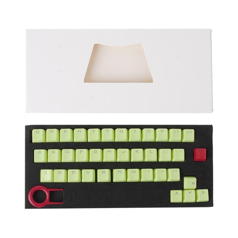 PBT 37 Keys Double shot Translucidus Backlit Keycaps for Mechanical Keyboard enlarge