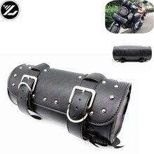 Motorrad Universal Leder Satteltaschen Sattel Werkzeug Taschen Gepäck für yamaha suzuki honda kawasaki aprilia Triphum Indische bmw