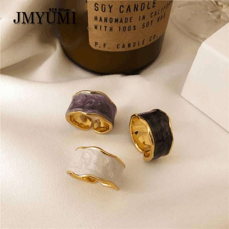 Кольца-jmyumi-в-античном-стиле-925-стерлингового-серебра-зернистость-глянцевые-золотистые-кольца-для-женщин-элегантные-ювелирные-изделия-дл