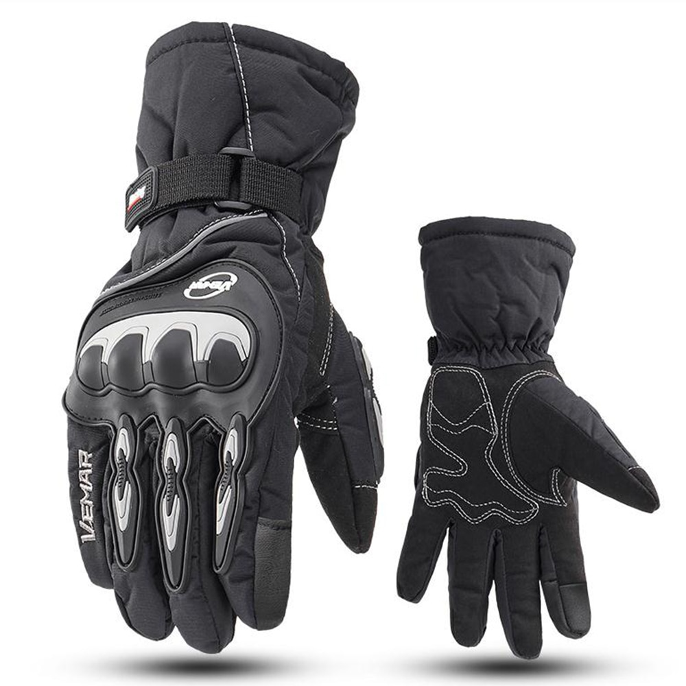 Winter Motorcycle Gloves 100% Waterproof Touch Screen Warm Moto Glove Men Protective Moto Luvas Guantes Motocross Gloves enlarge