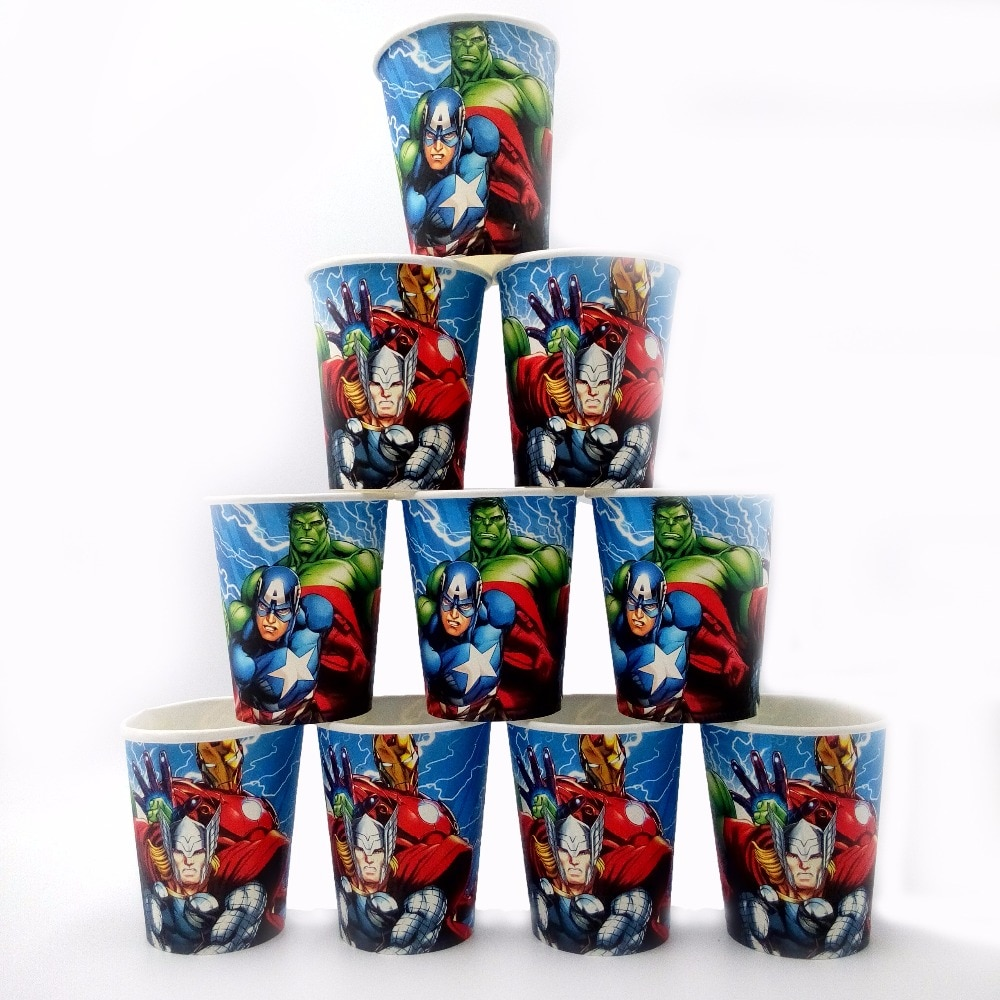 10-pz-lotto-avengers-hulk-cup-decorazione-di-compleanno-forniture-per-feste-a-tema-festival-per-bambini-ragazzi-vendicatori-forniture-per-feste-baby-shower