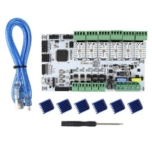 Accessoires imprimante 3D RUMBA32-Bit carte mère + TMC2208x6 Kit pilote silencieux Marlin 2.0