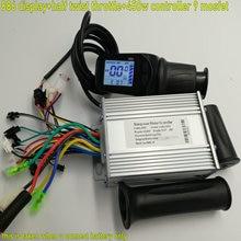 24v36v48v60v LCD display&half twist throttle+BLDC controller 250W-1000W for electric bike scooter MTB intelligent bike tricycle
