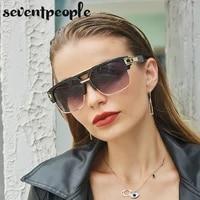 retro square sunglasses men 2021 luxury brand quality vintage oversized sun glasses for women fashion large frame eyewear