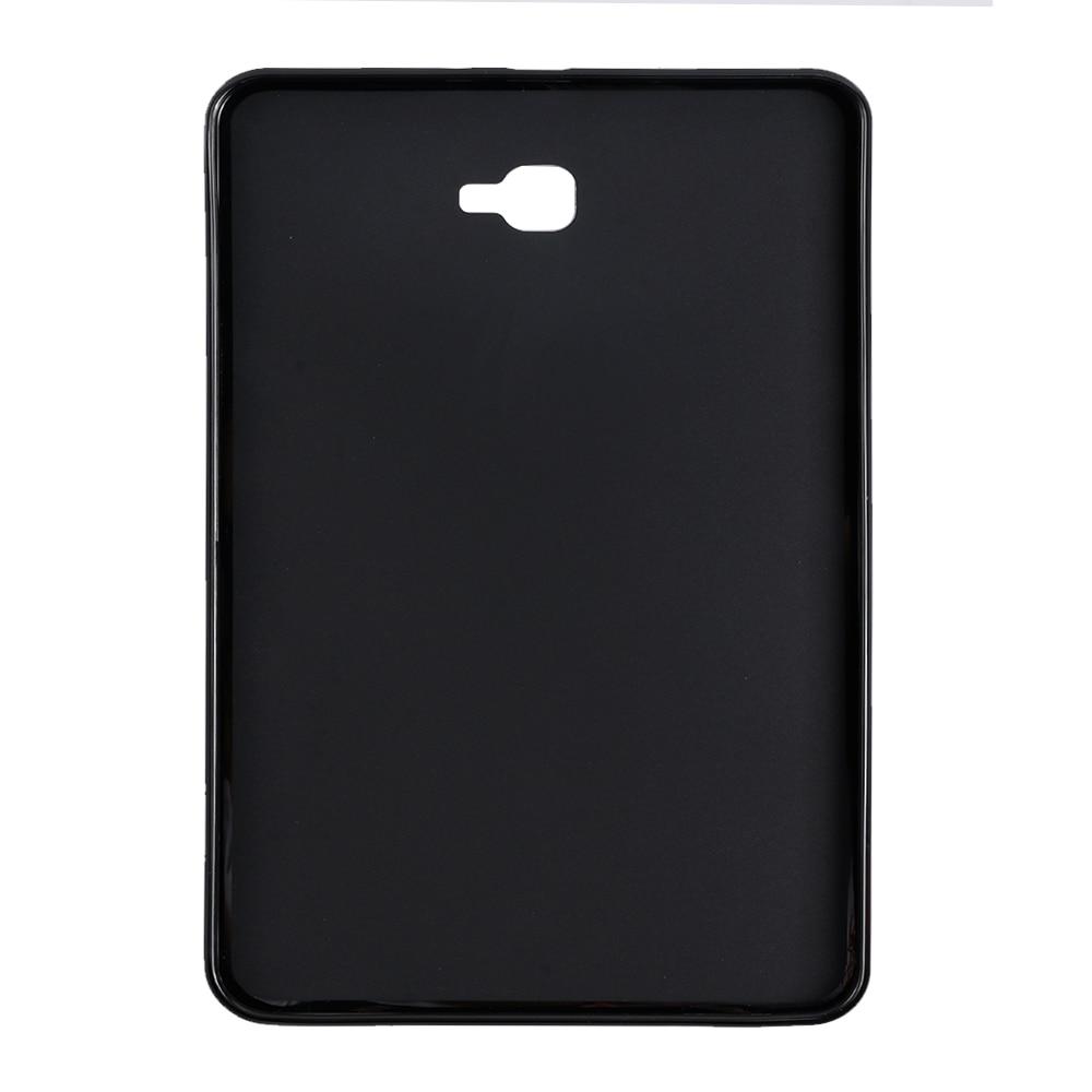 AXD Tab A 10,1 funda trasera de silicona para tableta inteligente para Samsung Galaxy Tab A A6 10,1 pulgadas 2016 SM-T580 T585 carcasa A prueba de golpes