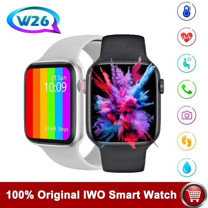 AliExpress - Hot IWO W26 W46 Smart watch Original Watch Waterproof With Heart Rate Monitor Watch Pedometer Stopwatch smartwatch for Men Wome