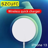 szcurc 20w magnetic suction wireless charger for iphone13 12 pro max 11 x 8p pd 20w fast charger usb c for huawei xiaomi samsung