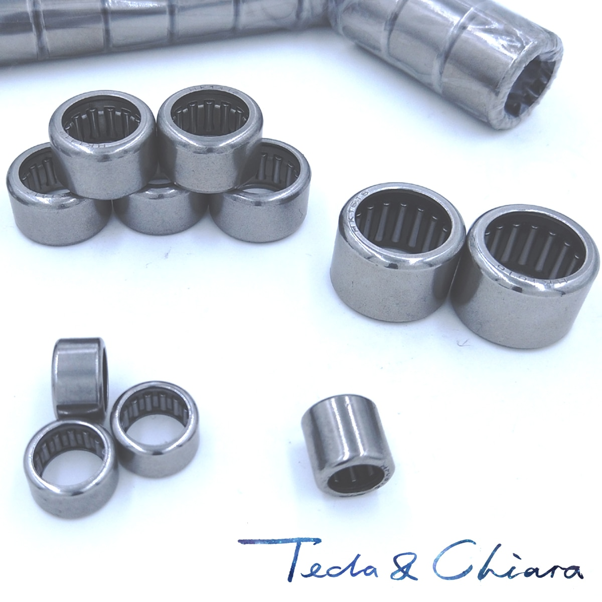 5Pcs HK142012 HK1412 37941/14 Drawn Cup Type Needle Roller Bearing 14 x 20 x 12mmFree shipping High Quality