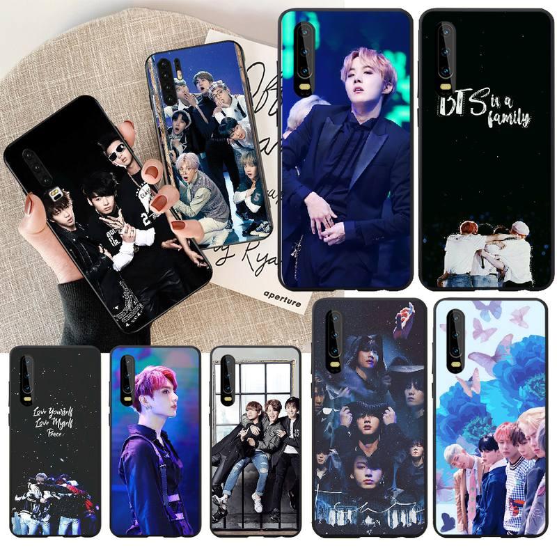 PENGHUWAN Euphoria Jungkook KPOP hombre foto personalizada funda de teléfono suave para Huawei NOVA 2 PLUS 2s 2i 3i 3E 4E 5 5I PRO