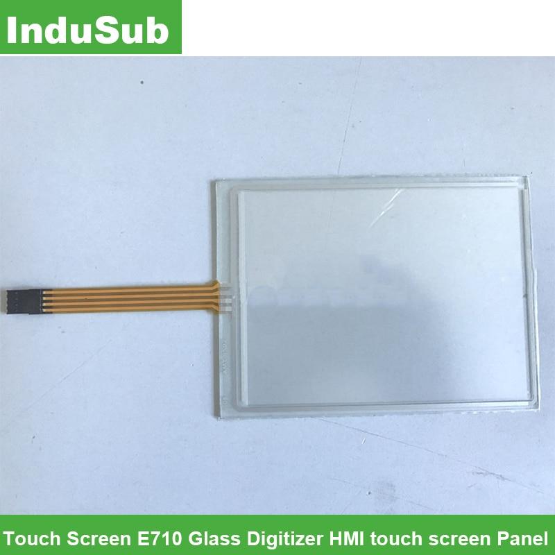 شاشة تعمل باللمس E710 زجاج محول الأرقام HMI لوحة شاشة لمس