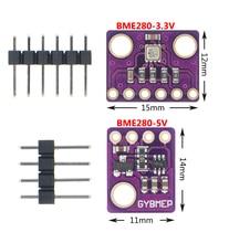 1Pcs GY-BME280-3.3/5 Precisie Hoogtemeter Atmosferische Druk BME280 Sensor Module