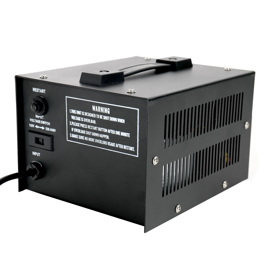 Convertidor de voltaje inteligente eficiente de 100 V-220 V para electrodomésticos ST-1000W transformador de aumento de uso doméstico