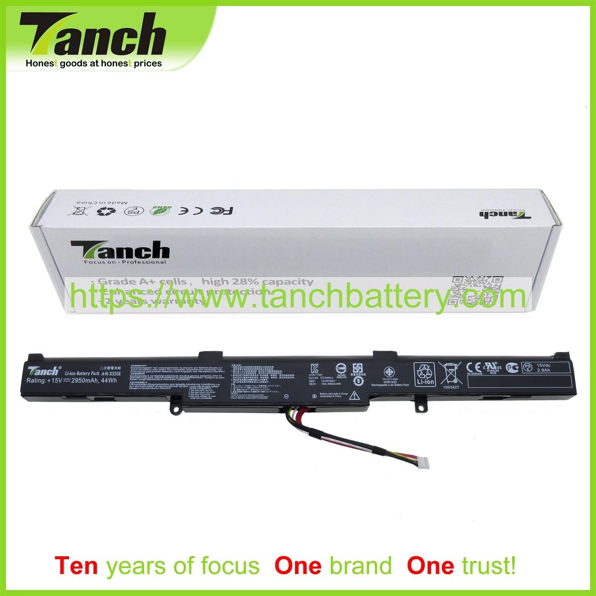 Tanch Laptop Battery for ASUS 0B110-00220100 CS-AUX450NB LC41LG130Q-7 A450 X751LB X751SJ F751MD R752MA 15V 4cell