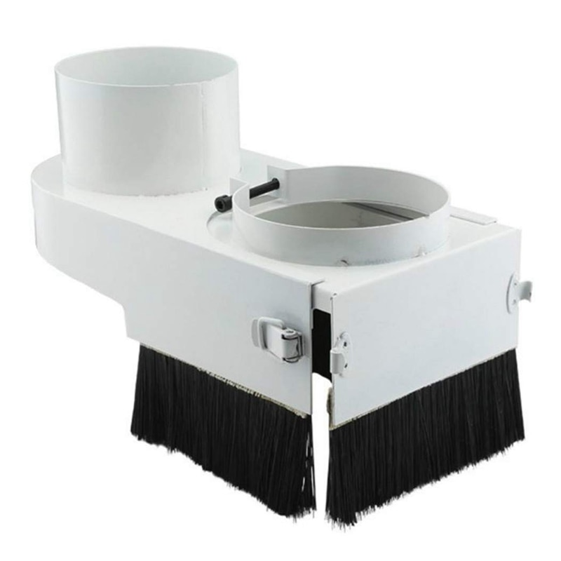 CNC Dust Collector Dust Cover Brush 75Mm Diameter For CNC Engraving Machine Milling Machine Router Woodworking Tools