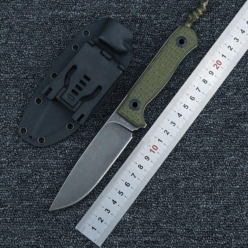 LEMIFSHE سكين نيولوكس شفرة G10 مقبض k غمد في الهواء الطلق التخييم النجارة حديقة متعددة الأغراض أدوات الصيد