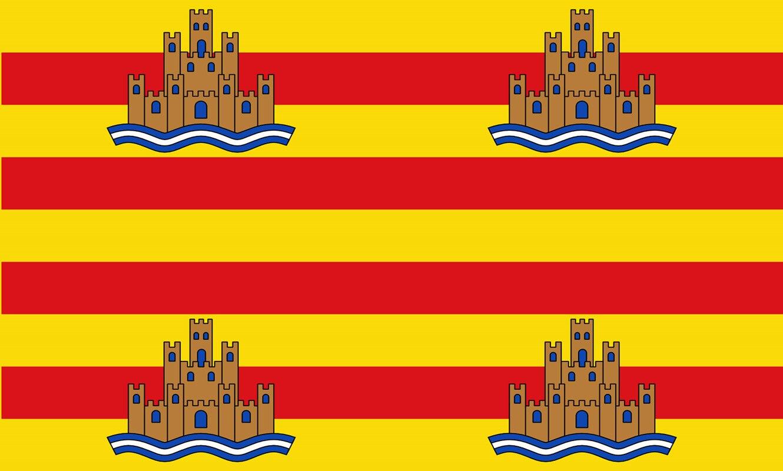Spain Ibiza Majorca Menorca Formentera Spain Balearic Islands 3*5ft 90*150cm Spainish Flag and Banner