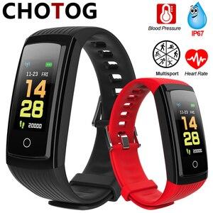 Fitness Bracelet Ip67 Waterproof Sport Smart Bracelet Blood Pressure Pedometer Smart Band Fitness Tracker Watch For Android IOS