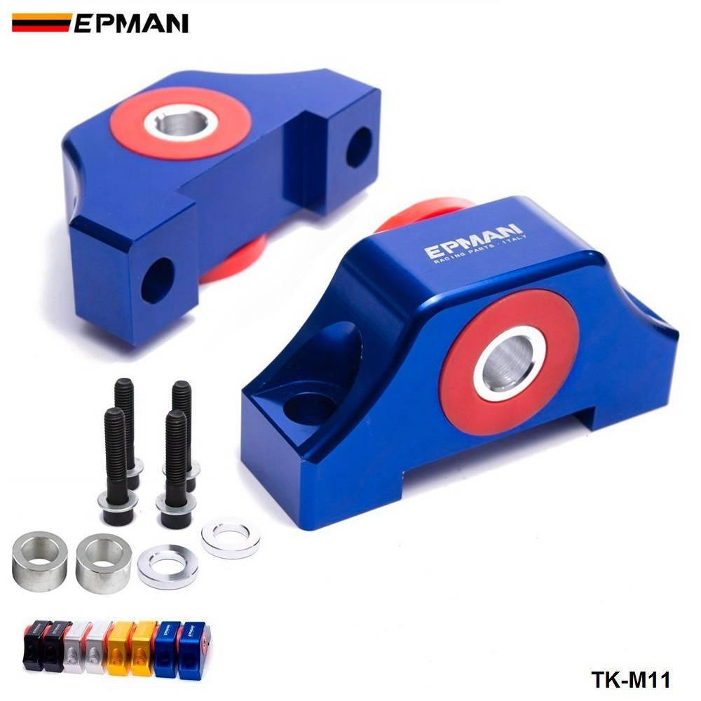 Спортивный EPMAN полированный двигатель TORQUE крепления для 1992-2000 HONDA CIVIC D серии INTEGRA TK-M11